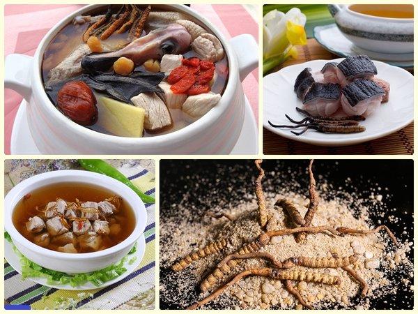 Những Món Ăn Từ Đông Trùng Hạ Thảo Cho Ngày Tết