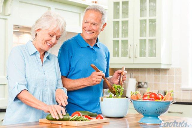 Bữa ăn cho người cao tuổi như thế nào tốt nhất