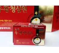 An Cung Ngưu Hoàng Hàn Quốc Hộp 10 Viên Đỏ